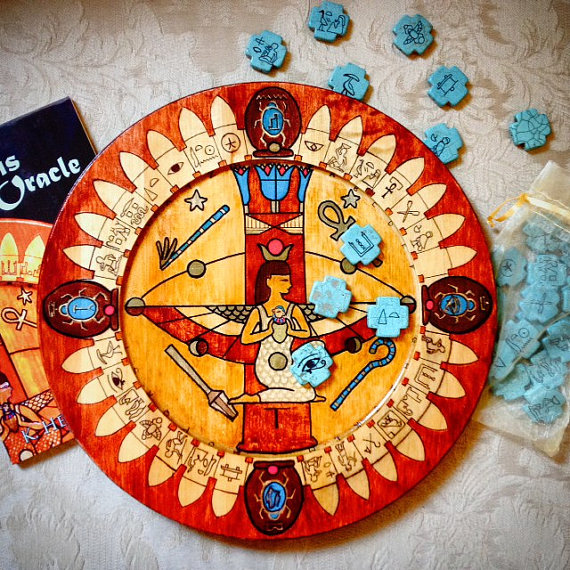Isis Oracle Divination Plate