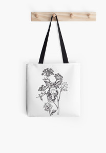 anise fairy tote bag