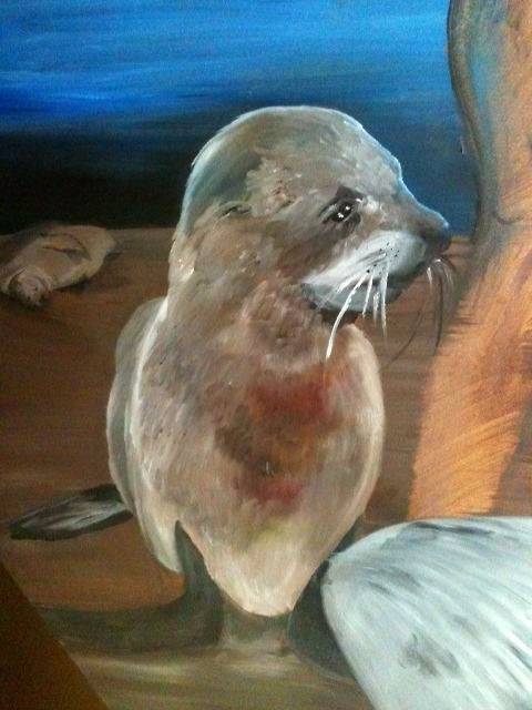 Detail of one of the seals on Sedna's painting. This one's my favorite.