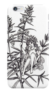 Hyssop Fairy iPhone Case