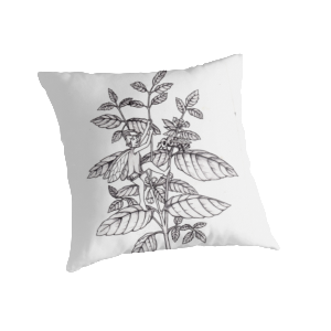 Sweet Melissa Fairy Throw Pillow