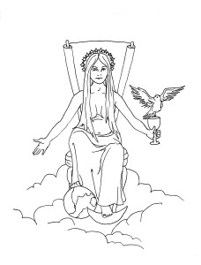 Sophia Coloring Page