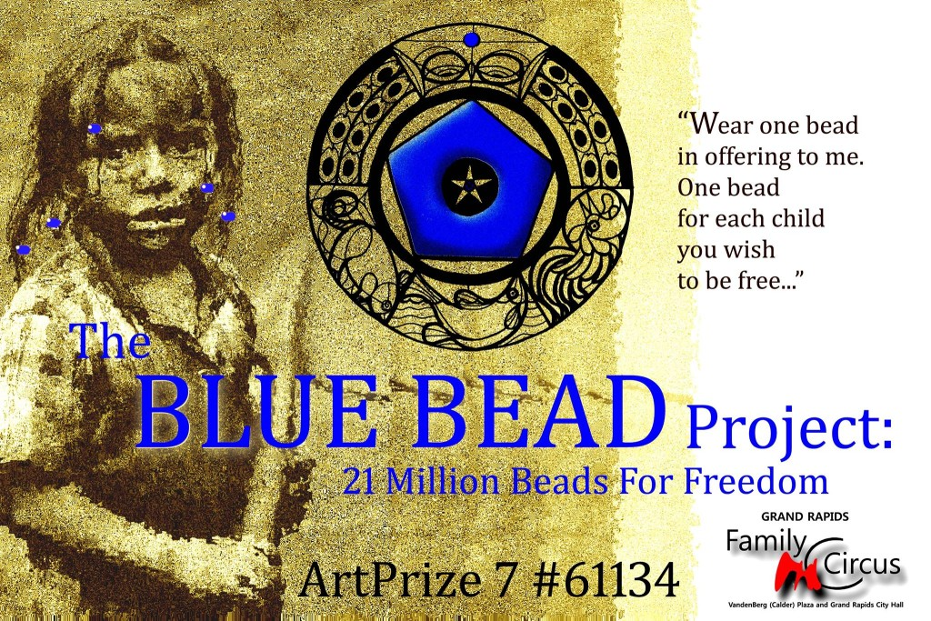 blue bead project cover
